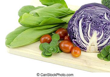 vegetable isolated on white background