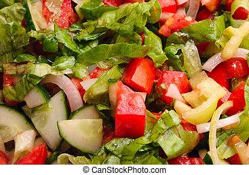 Vegetable kaleidoscope number two