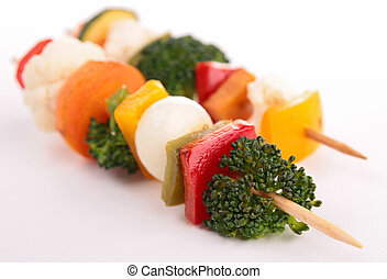 vegetable kebab