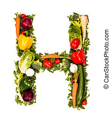Vegetable letter