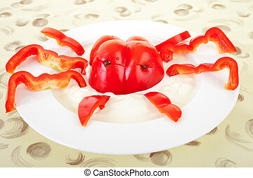 vegetable lobster