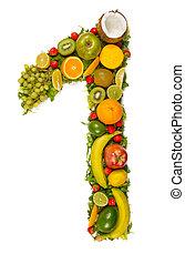 Vegetable number