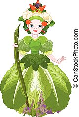 Vegetable Queen