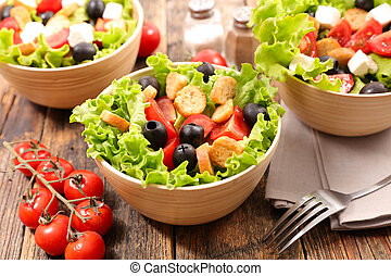 vegetable salad bowl