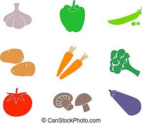 vegetable shapes