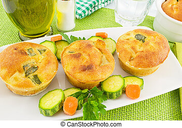 vegetable souffl - vegetables