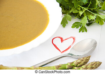 vegetable soup, diet and nutrition