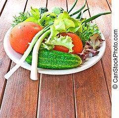 Vegetable still-life