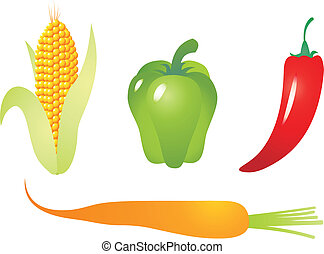 Vegetable vector - Set of vegetable vectors. To see similar,...
