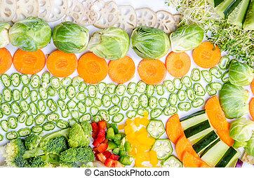 Vegetables Arrangement