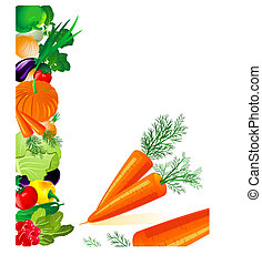 vegetables carrots