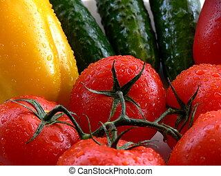 Vegetables - Close-up vegetables