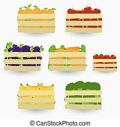Vegetables crate