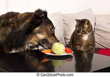 Vegetables for pets