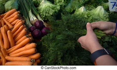 Vegetables in Bazaar