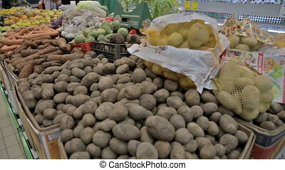 vegetables in the shop