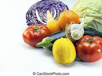 Vegetables, Mediterranean diet