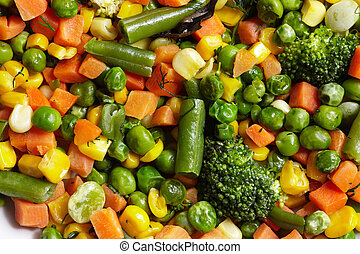 Vegetables mix.