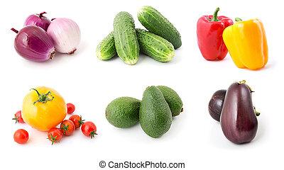 Vegetables set 6