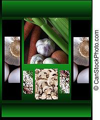 Vegetables - Vegetable arrangement...