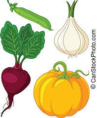 vegetables4, komplet