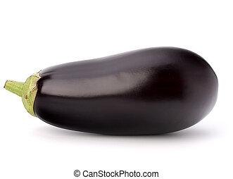 vegetal, berenjena, o, berenjena