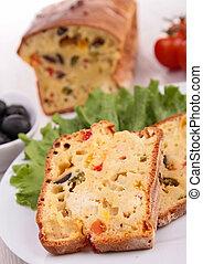 vegetal, bread