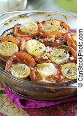 vegetal, casserole