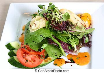 vegetal, ensalada