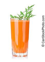 vegetal, fresco, zanahoria, jugo