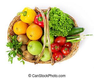 vegetal, fruits