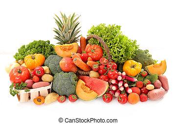 vegetal, fruta