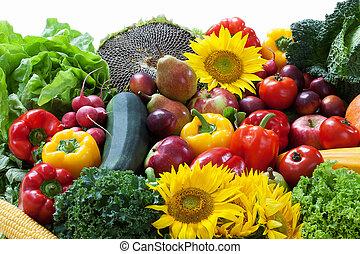vegetal, fruta, pila