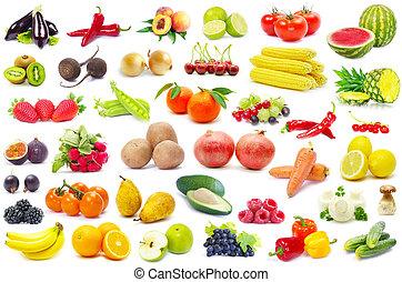 vegetal, frutas
