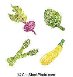 vegetal, ilustração
