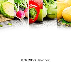 vegetal, mezcla