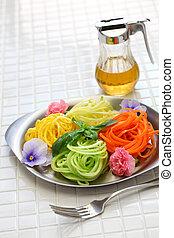 vegetal,  noodles, ingredientes