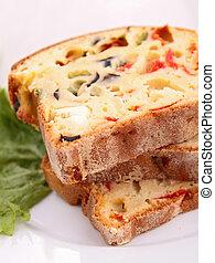 vegetal, pão