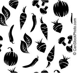 vegetal, patrón