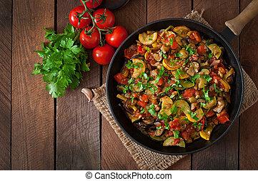 vegetal, ratatouille