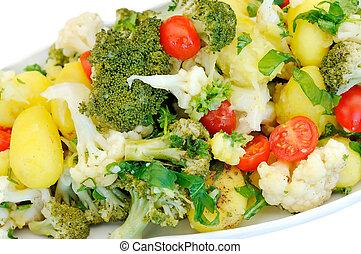 vegetal, salada