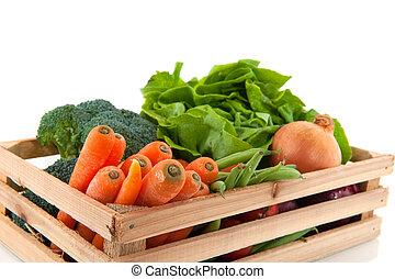 vegetales, cajón