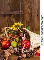vegetales, cuerno