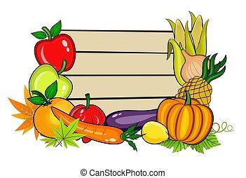 vegetales, espacio de copia