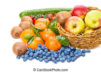 vegetales, frutas
