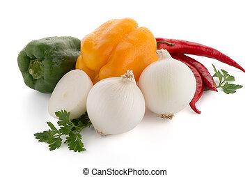 vegetales, mediterráneo
