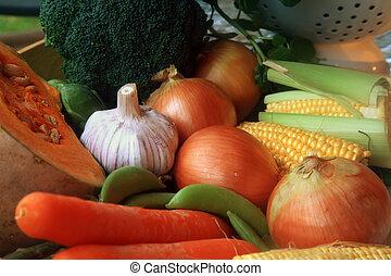 vegetales, pila