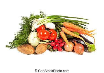 vegetales, plano de fondo