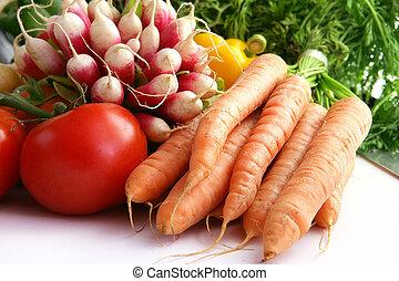 vegetales, selección