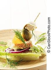 Vegetarian appetizer